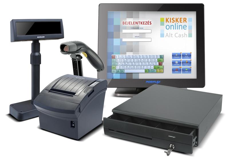 Kisker Online Prémium pénztárgép rendszer